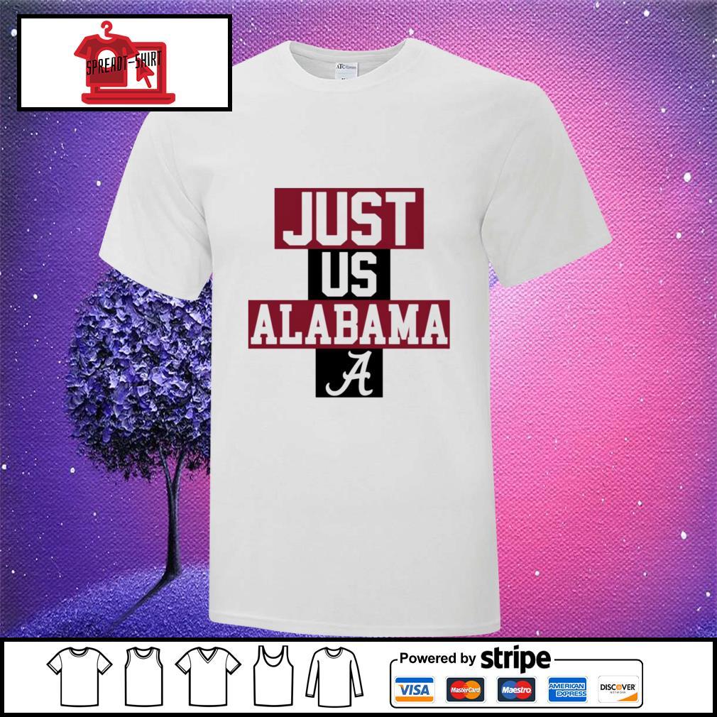 Alabama Crimson Tide Basketball just US bench shirt