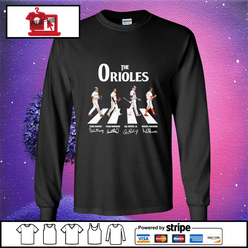 Baltimore Orioles Abbey the road signature longsleeve-tee