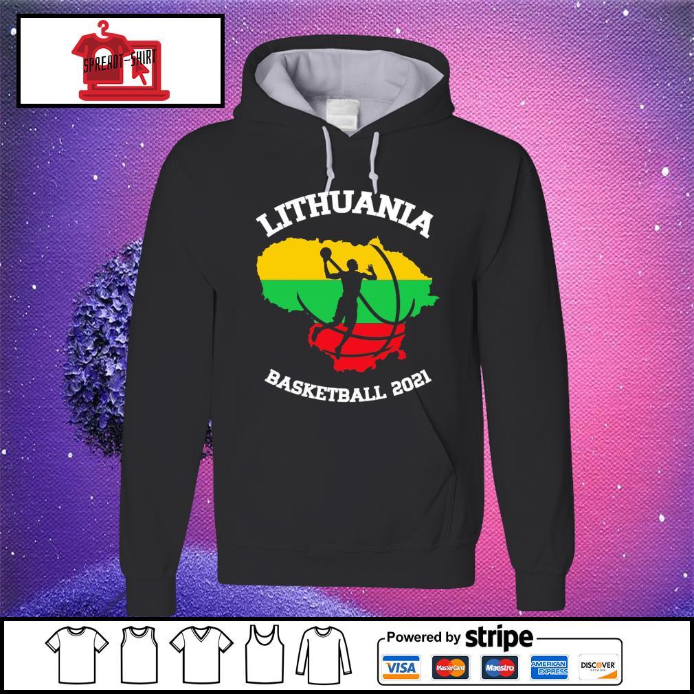 Basketball Lithuania basketball 2021 hoodie