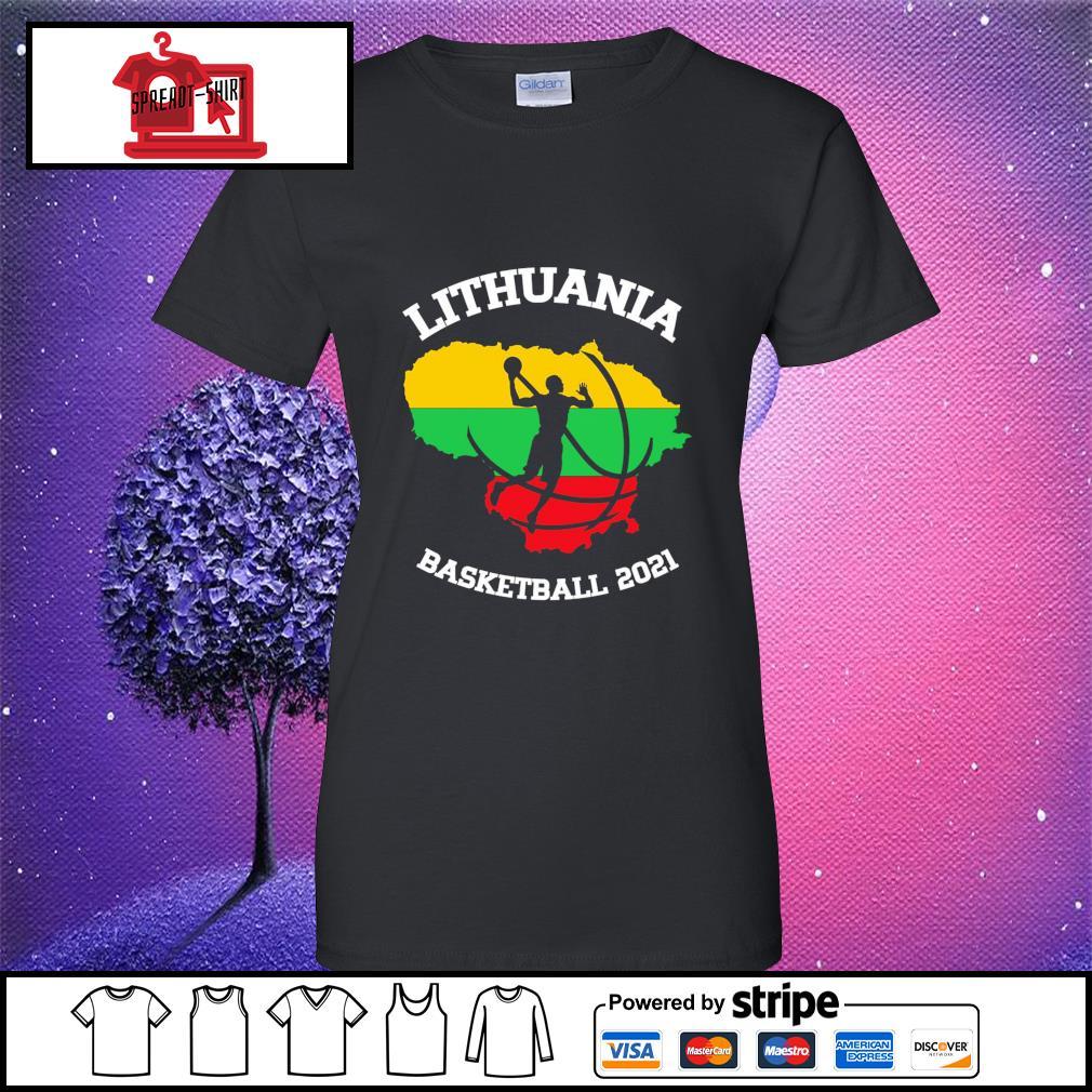 Basketball Lithuania basketball 2021 ladies-tee