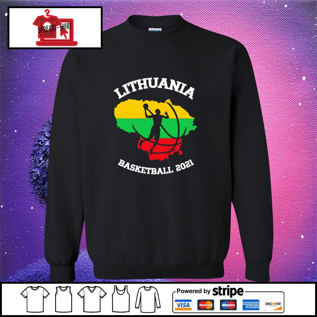 Basketball Lithuania basketball 2021 sweater