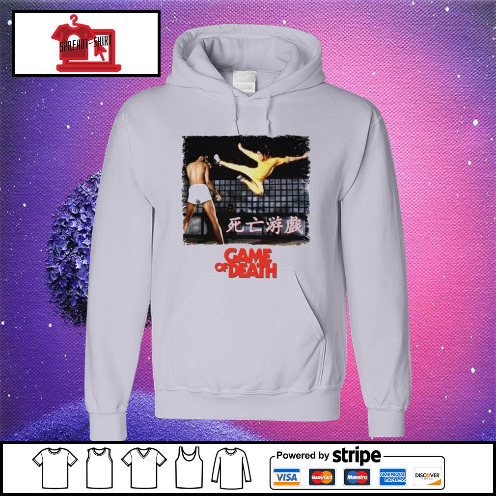 Bruce Lee Game of Death Dragon Jeet Kune do martial arts Kung-Fu hoodie