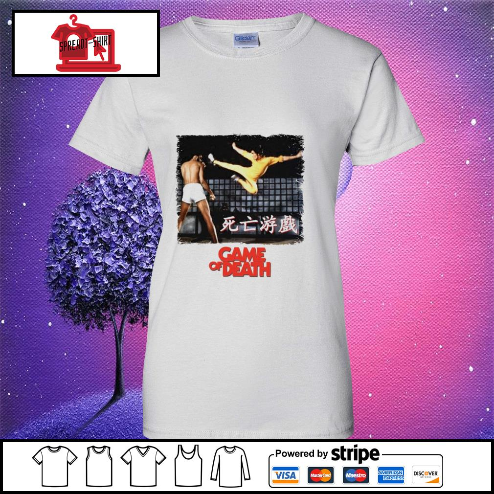 Bruce Lee Game of Death Dragon Jeet Kune do martial arts Kung-Fu ladies tee