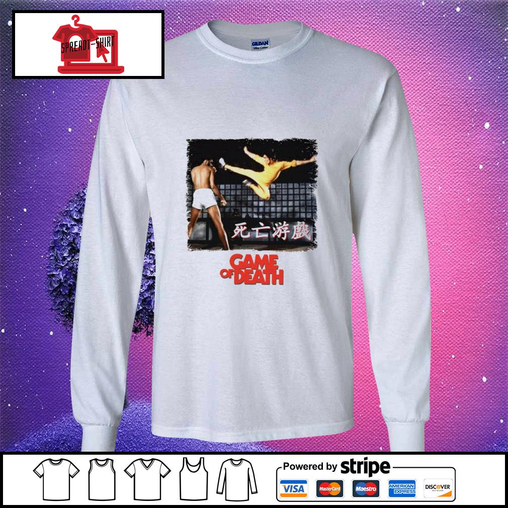 Bruce Lee Game of Death Dragon Jeet Kune do martial arts Kung-Fu longsleeve-tee