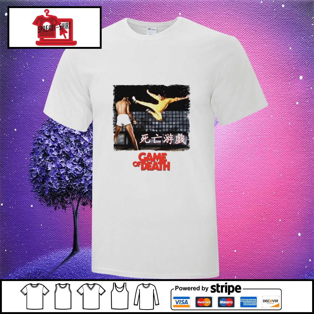 Bruce Lee Game of Death Dragon Jeet Kune do martial arts Kung-Fu shirt