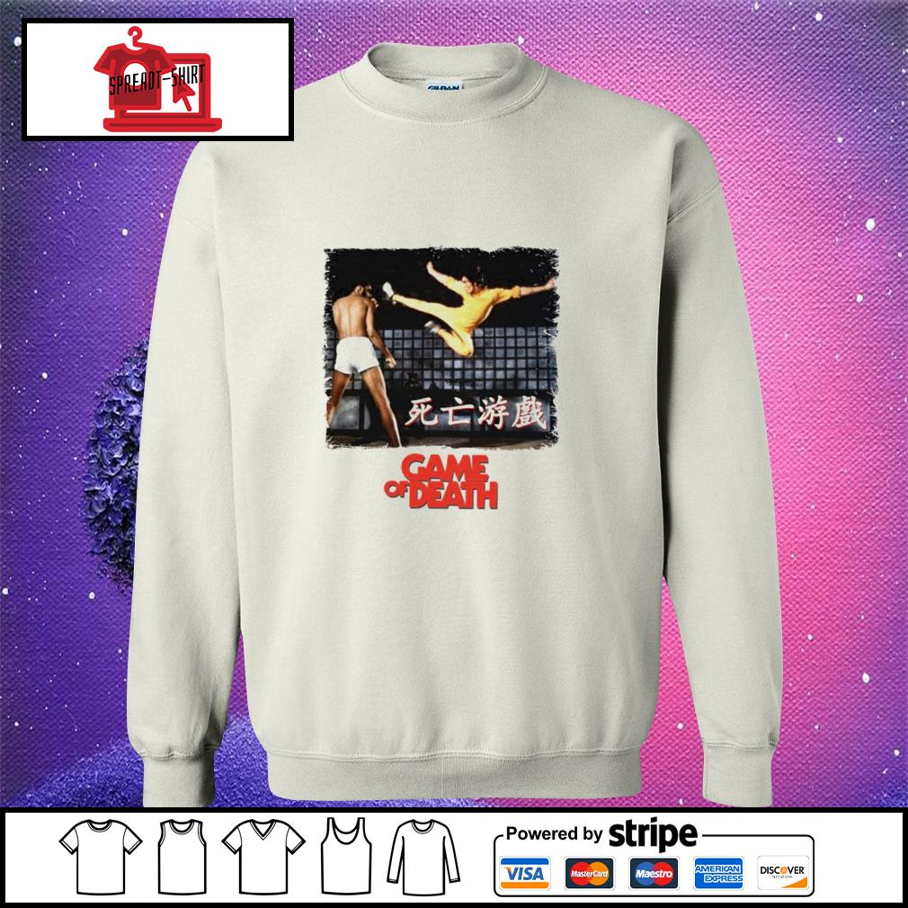 Bruce Lee Game of Death Dragon Jeet Kune do martial arts Kung-Fu sweater