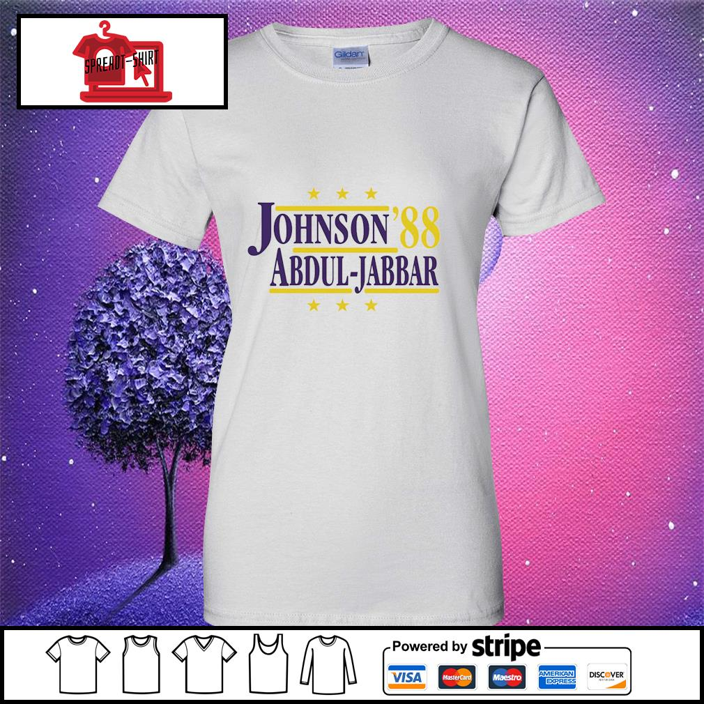 Johnson'88 Abdul-Jabbar ladies tee