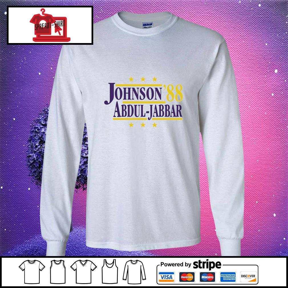 Johnson'88 Abdul-Jabbar longsleeve-tee