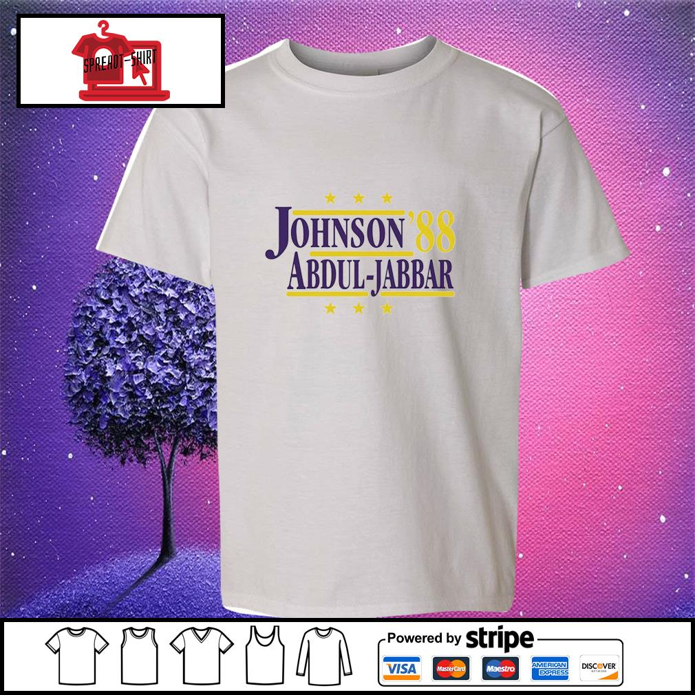 Johnson'88 Abdul-Jabbar youth-tee