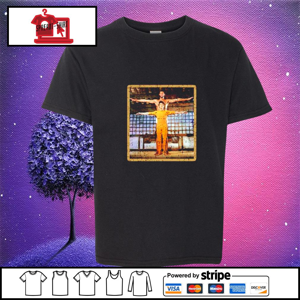 Kareem Abdul Jabar and Bruce Lee Game of death martial arts youth-tee