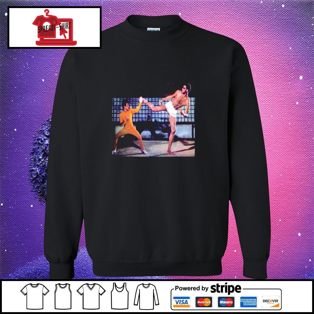 Kareem Abdul Jabbar and Bruce Lee Game of Death sweater