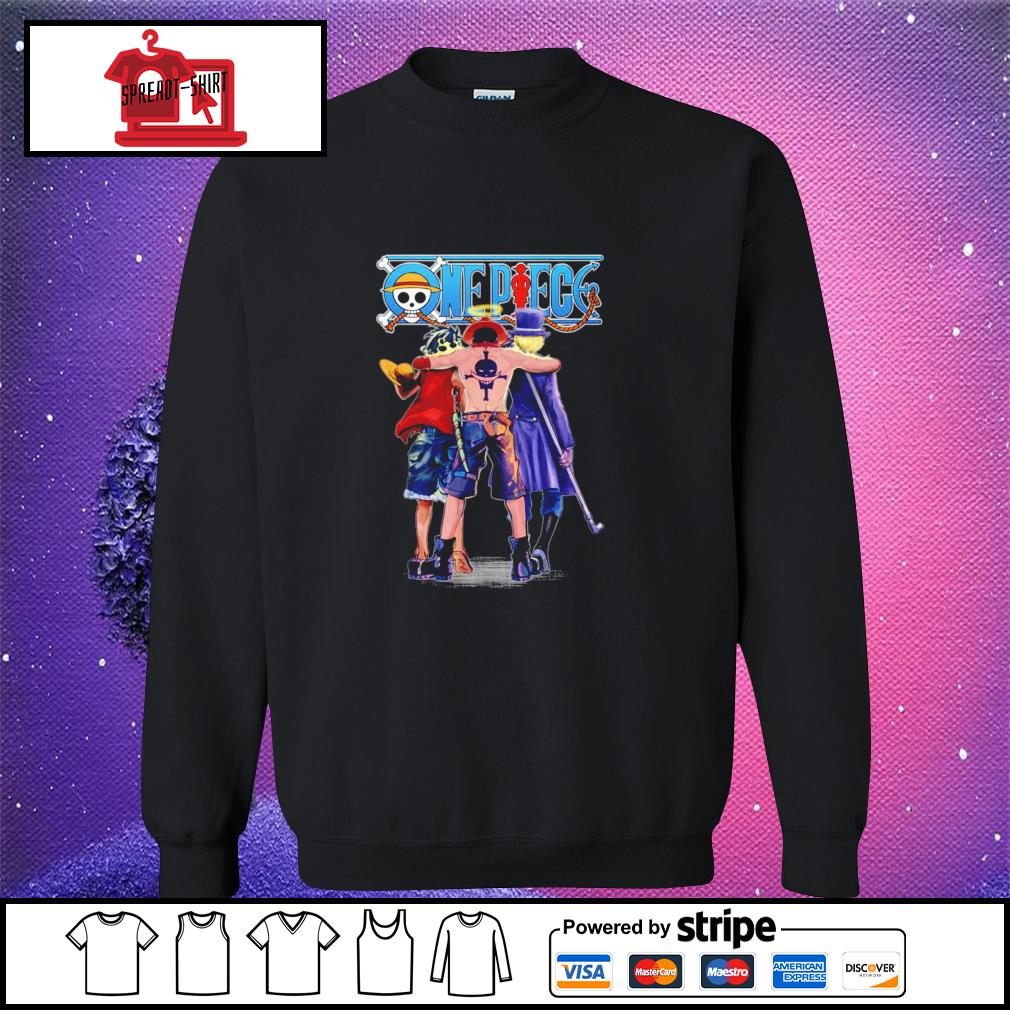 One Piece Luffy Ace and Sabo sweater