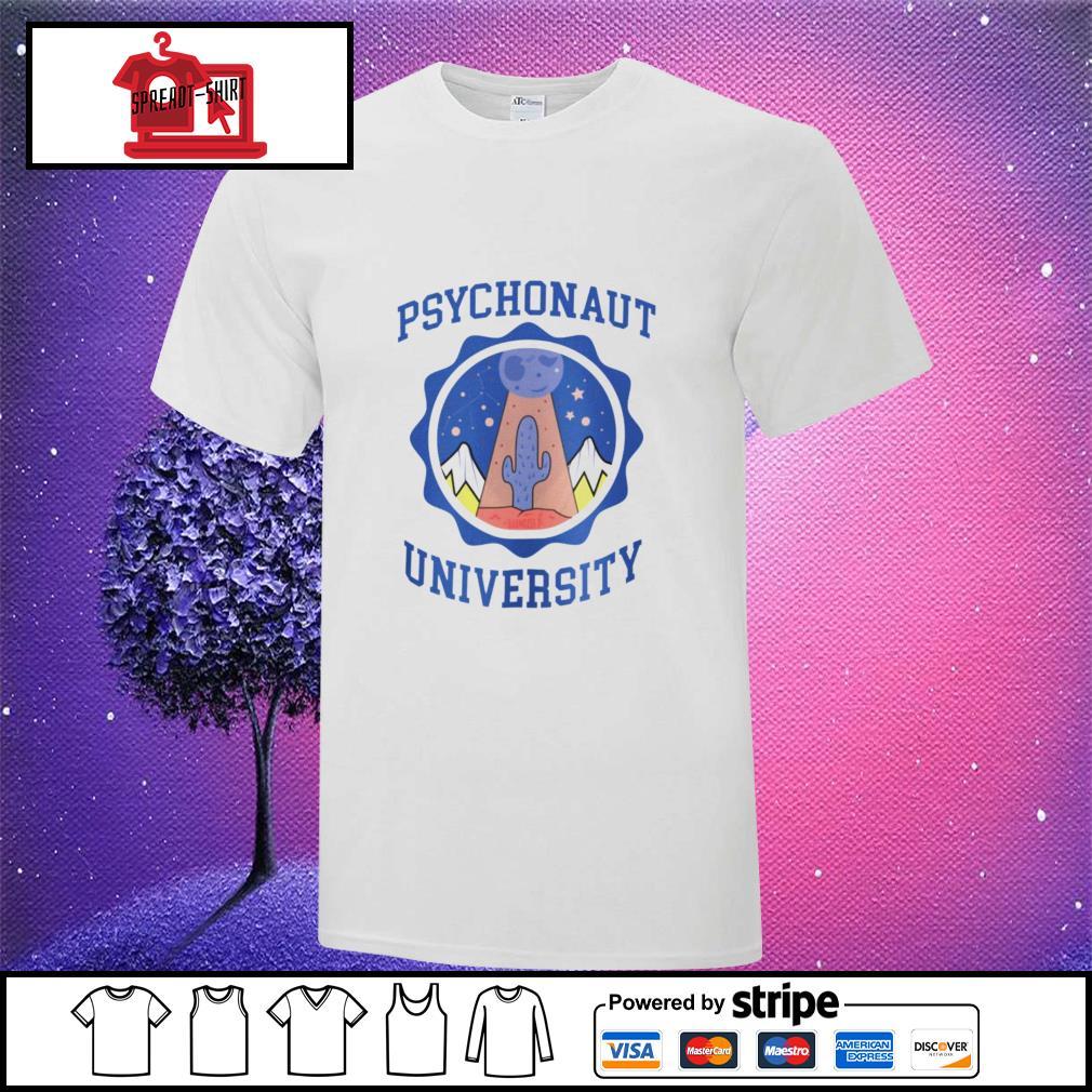 UFO Psychonaut University shirt