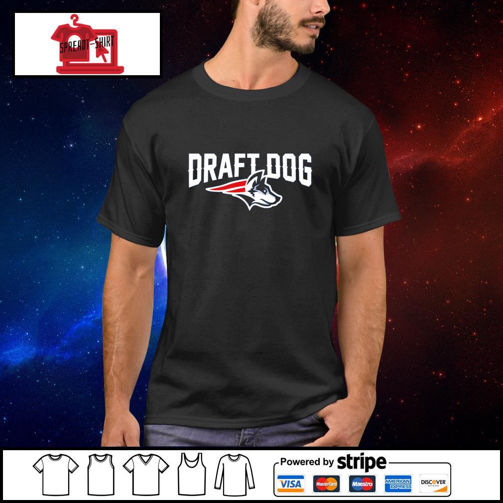 New England Football Draft Dog shirt