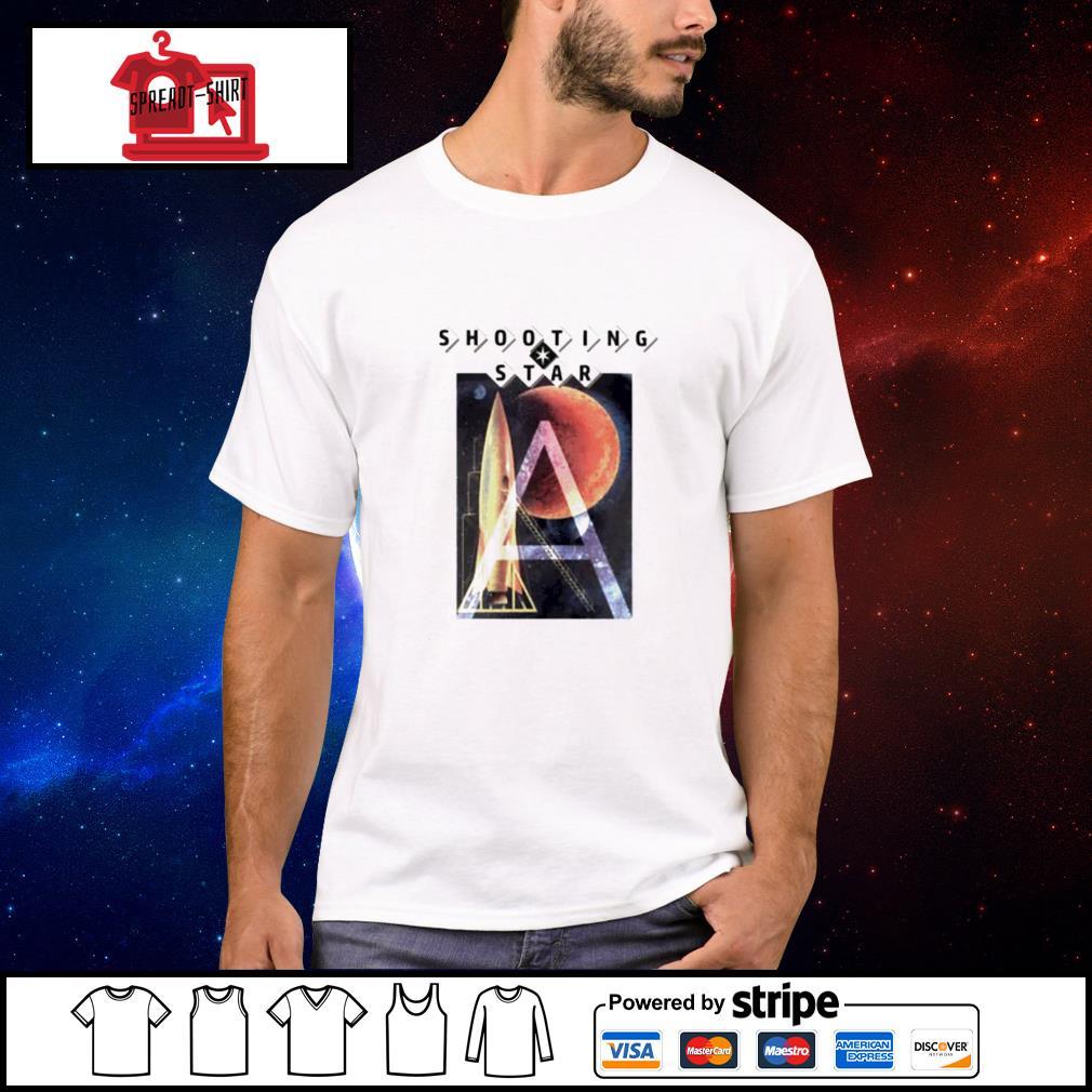 Shooting star roller coaster shirt