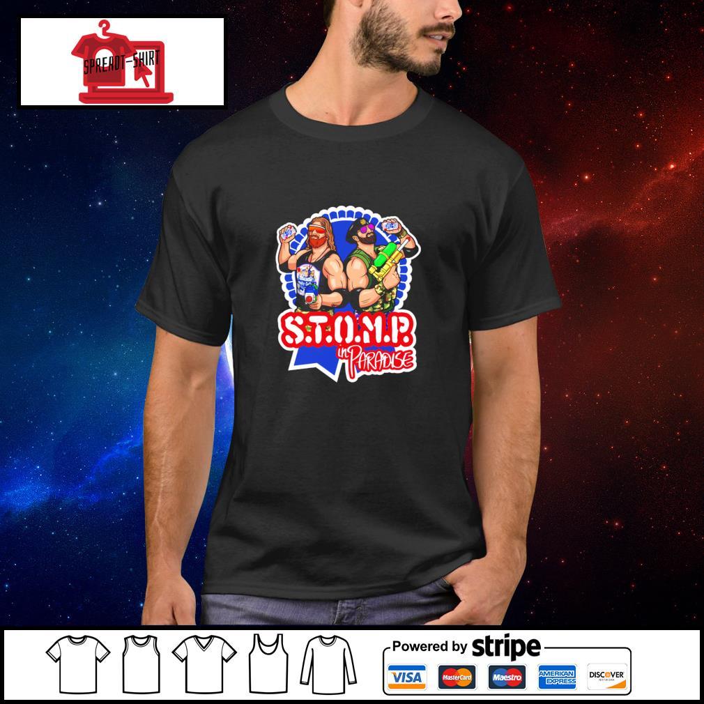 Major Wrestling Figure Podcast STOMP PBR Classic shirt