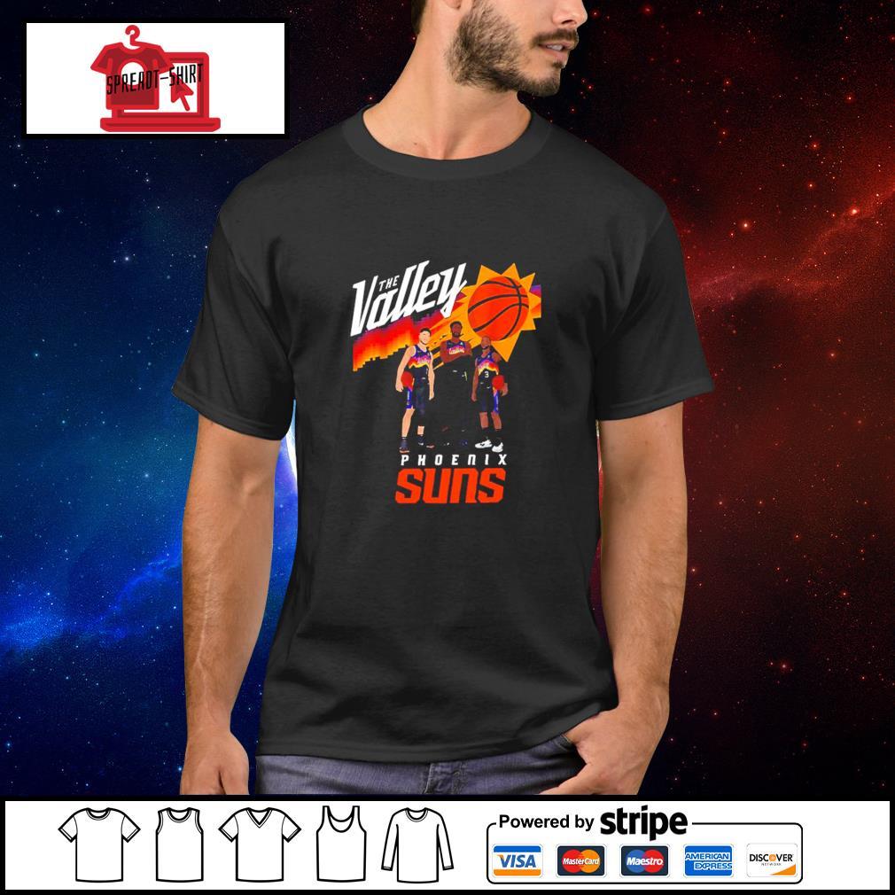 The Valley Phoenix suns Phoenix Basketball Big 3 City shirt