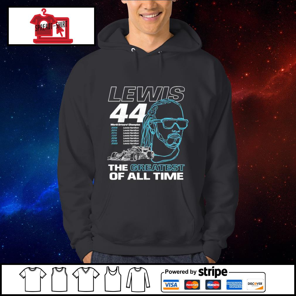 Lewis the greatest of all time s Hoodie