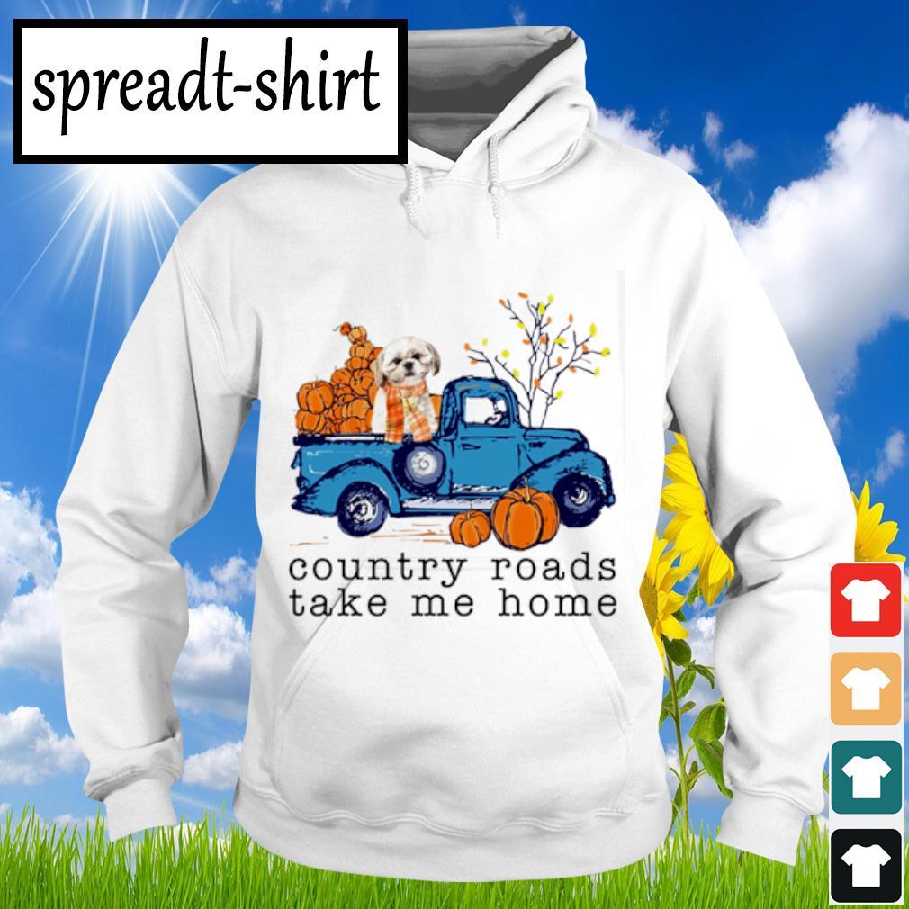 Pomeranian Country roads take me home s Hoodie