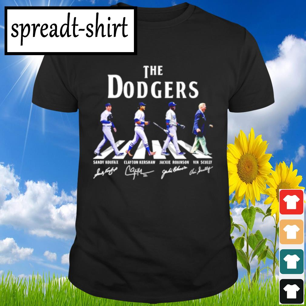 The Dodgers signature shirt