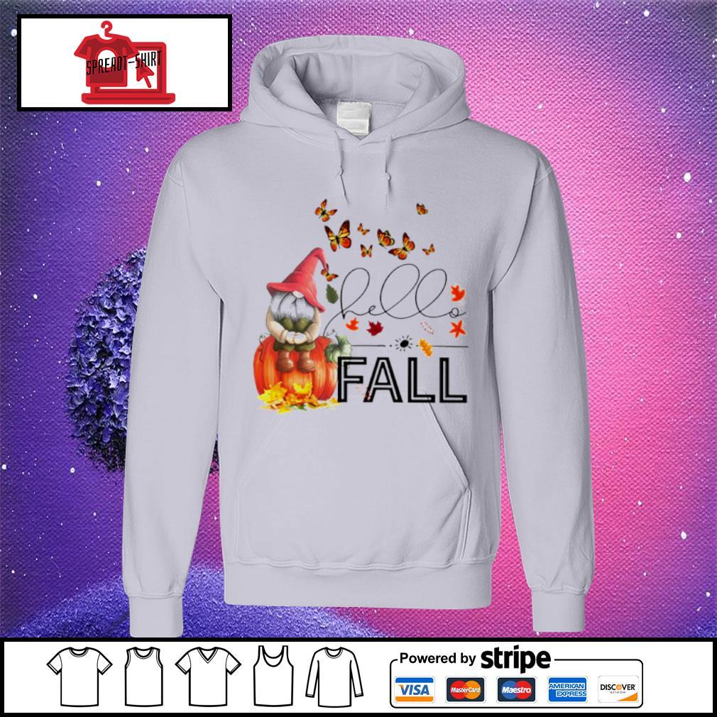 Hello Fall Gnome s hoodie