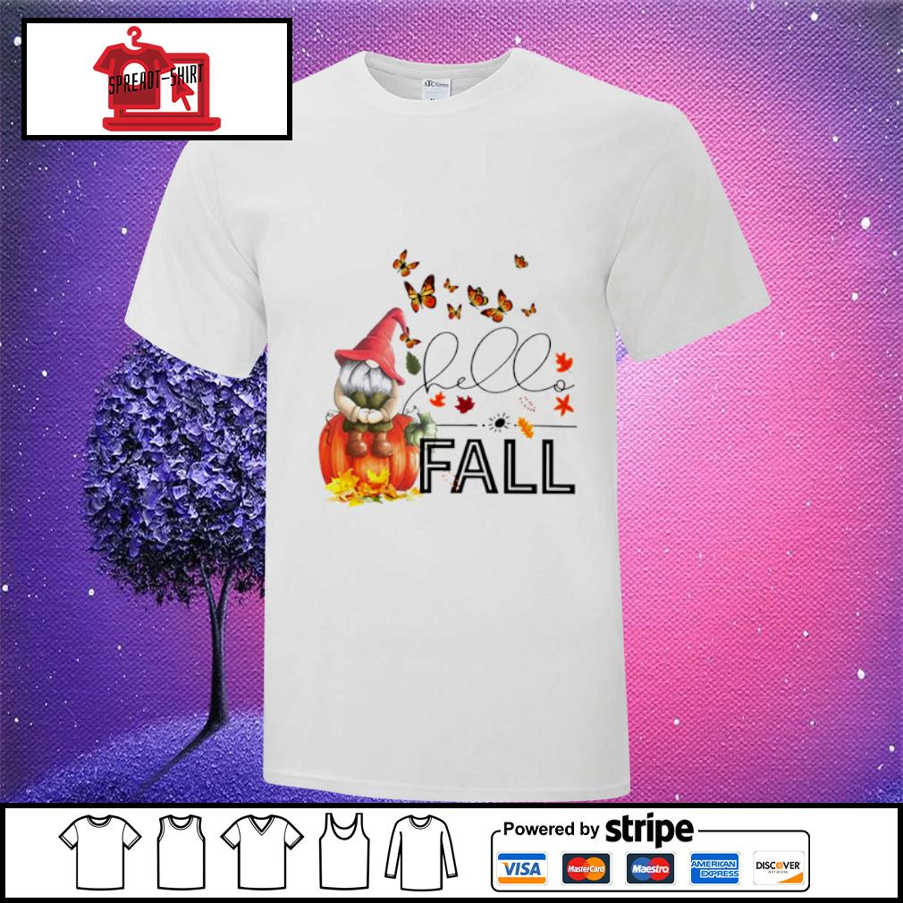Hello Fall Gnome shirt