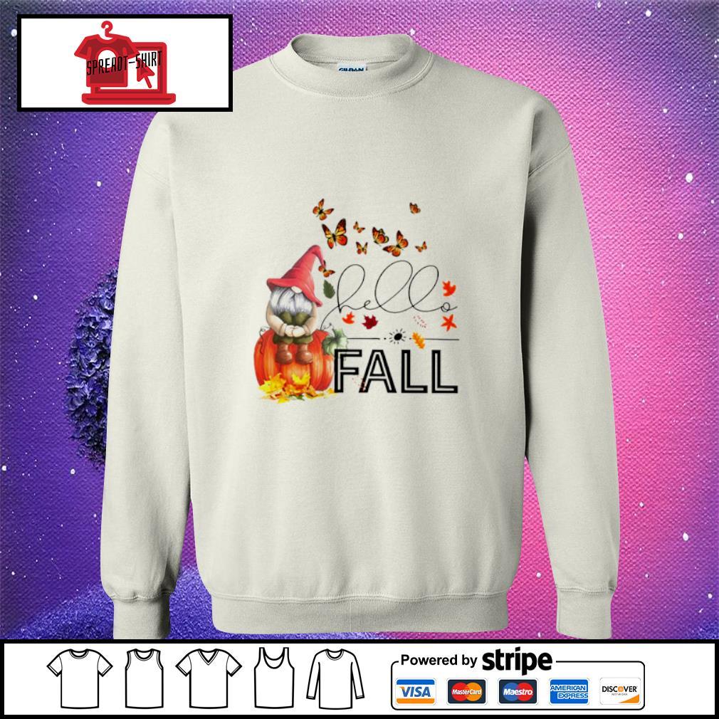 Hello Fall Gnome s sweater