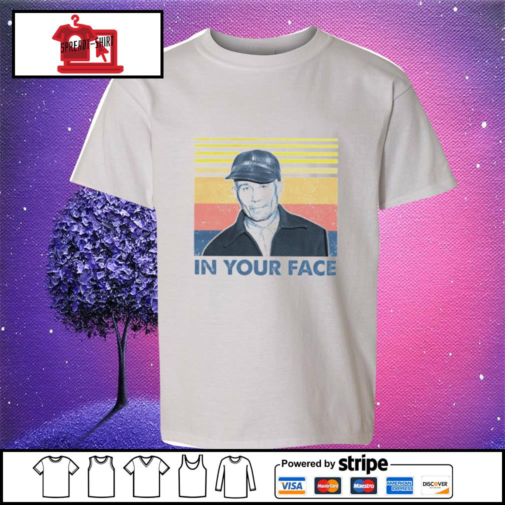 In Your Face Vintage Shirt youth-tee