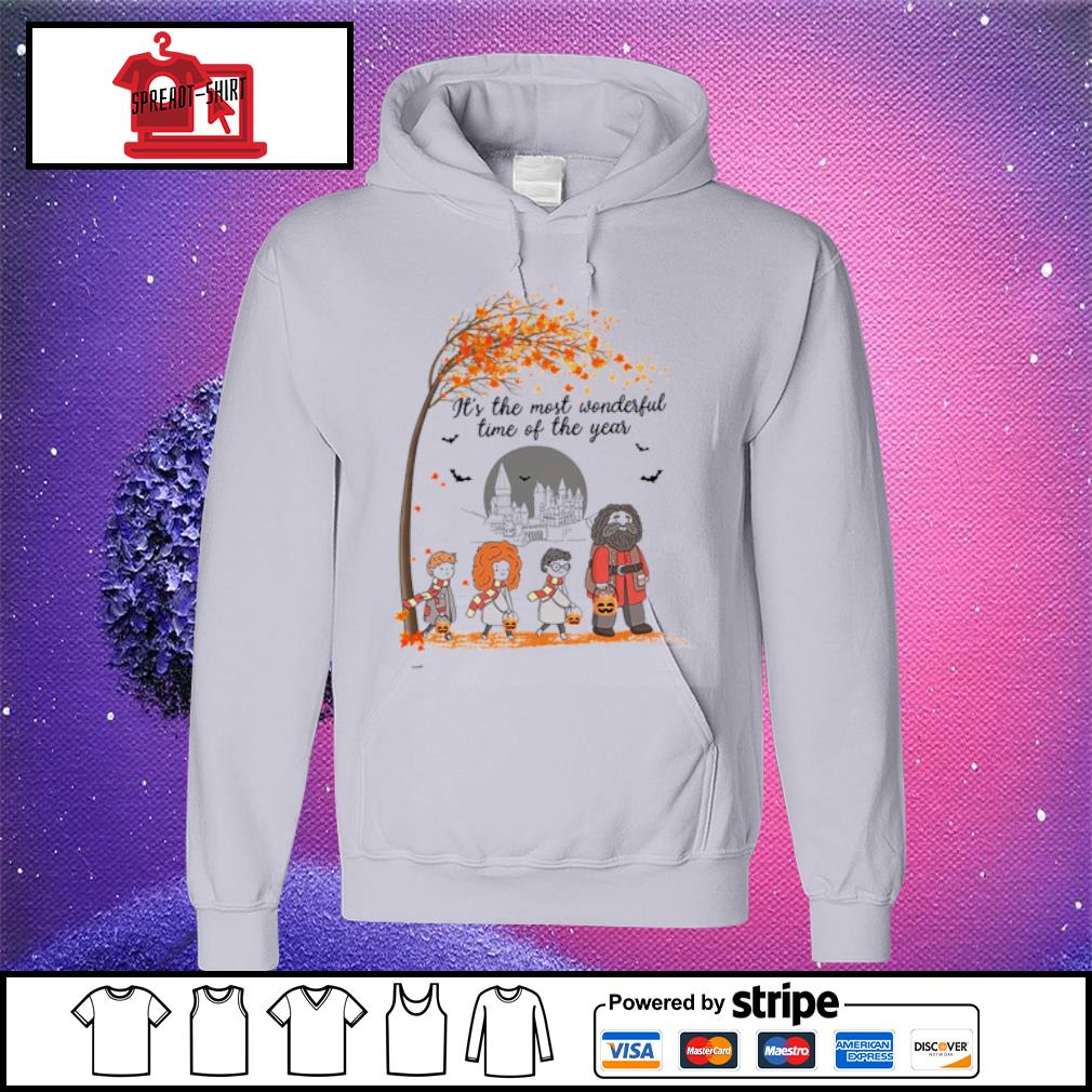 It's the most wonderful time of the year Harry Potter chibi s hoodie