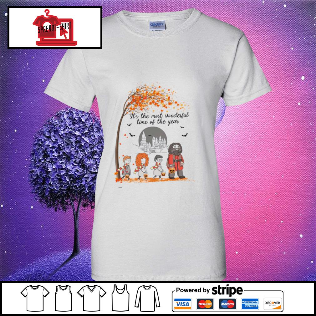 It's the most wonderful time of the year Harry Potter chibi s ladies tee