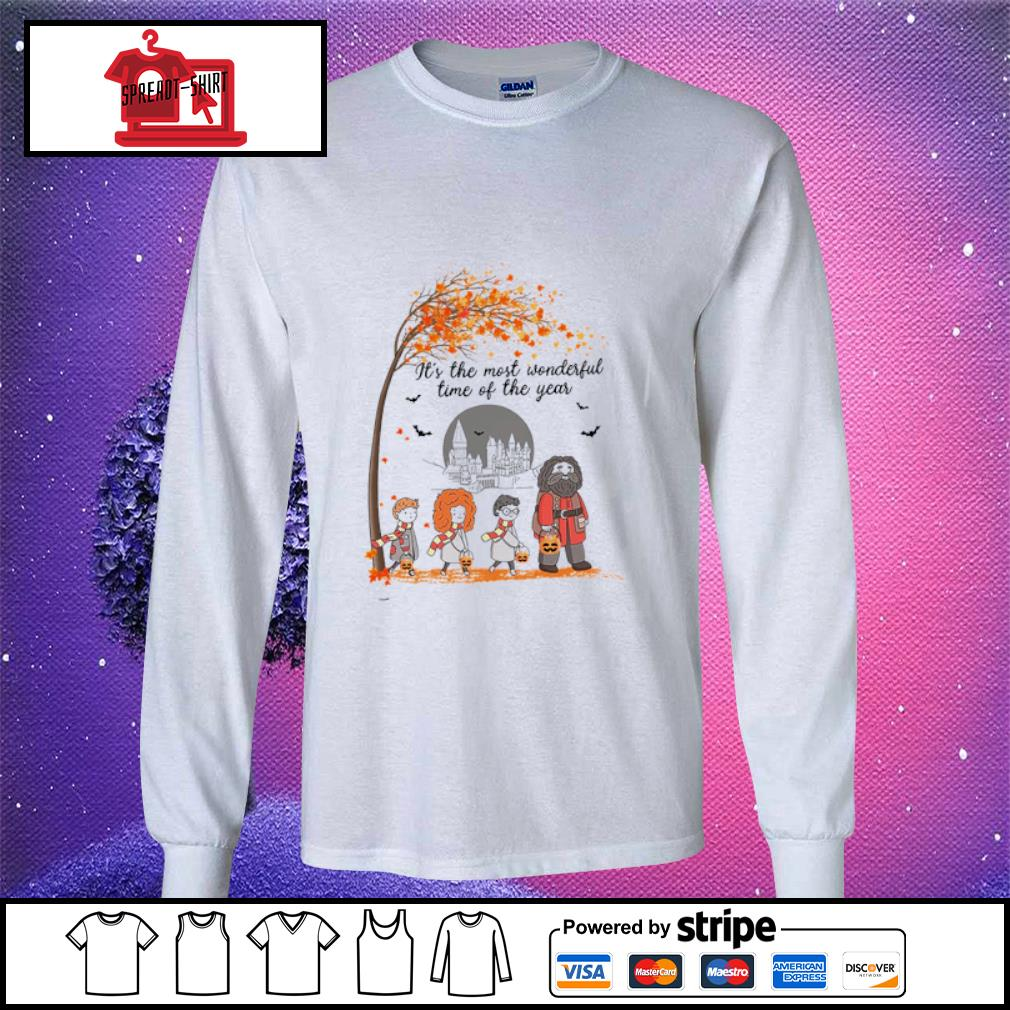 It's the most wonderful time of the year Harry Potter chibi s longsleeve-tee