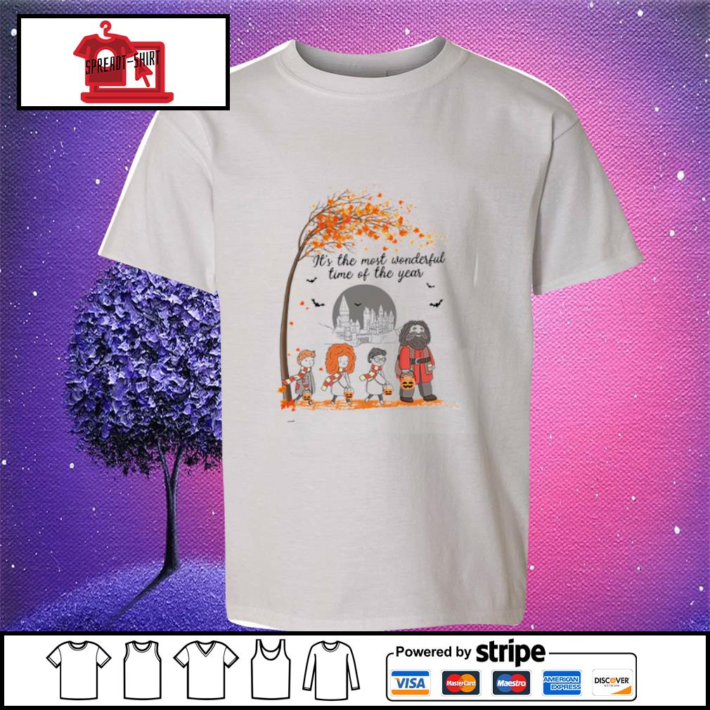 It's the most wonderful time of the year Harry Potter chibi s youth-tee