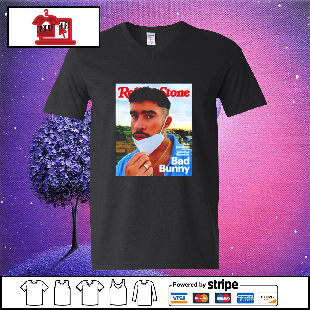 Reggaeton Bad Bunny s v-neck-t-shirt