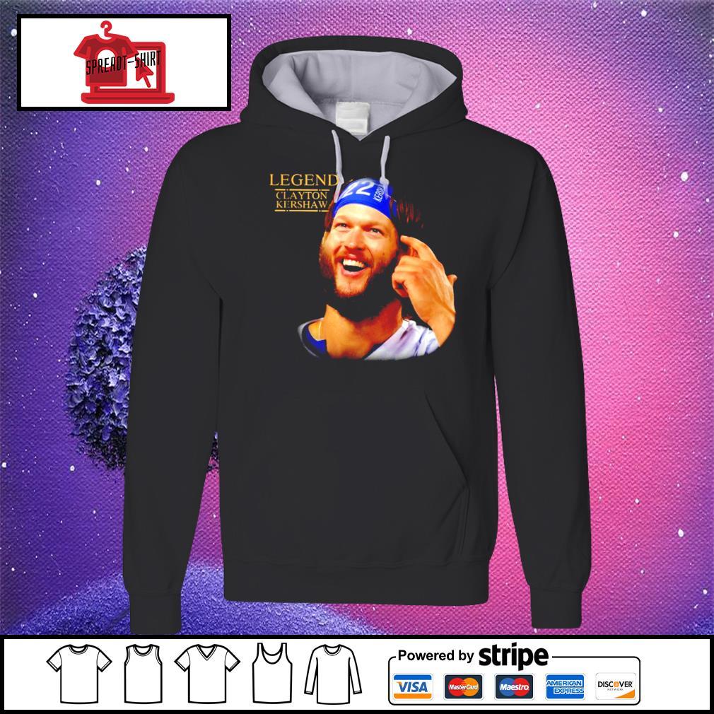 Legend Clayton Kershaw Shirt hoodie