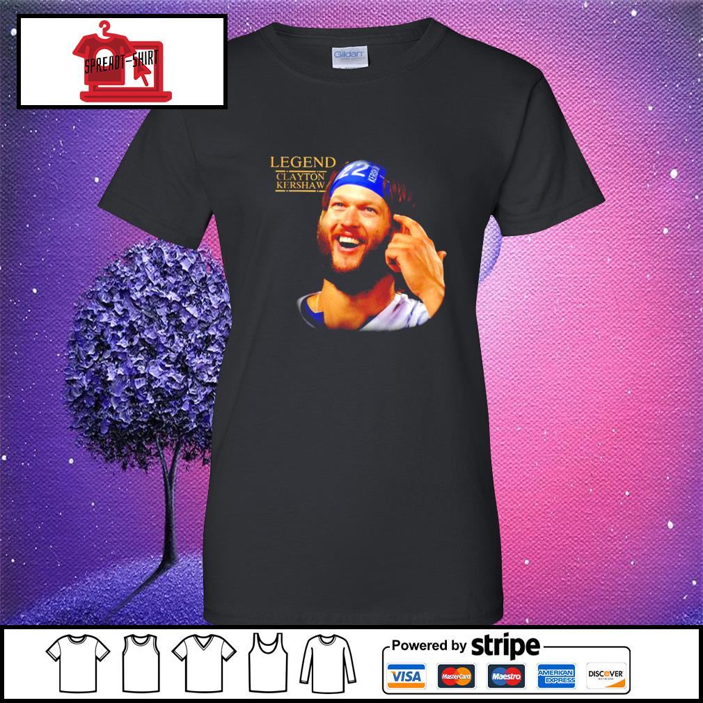 Legend Clayton Kershaw Shirt ladies-tee