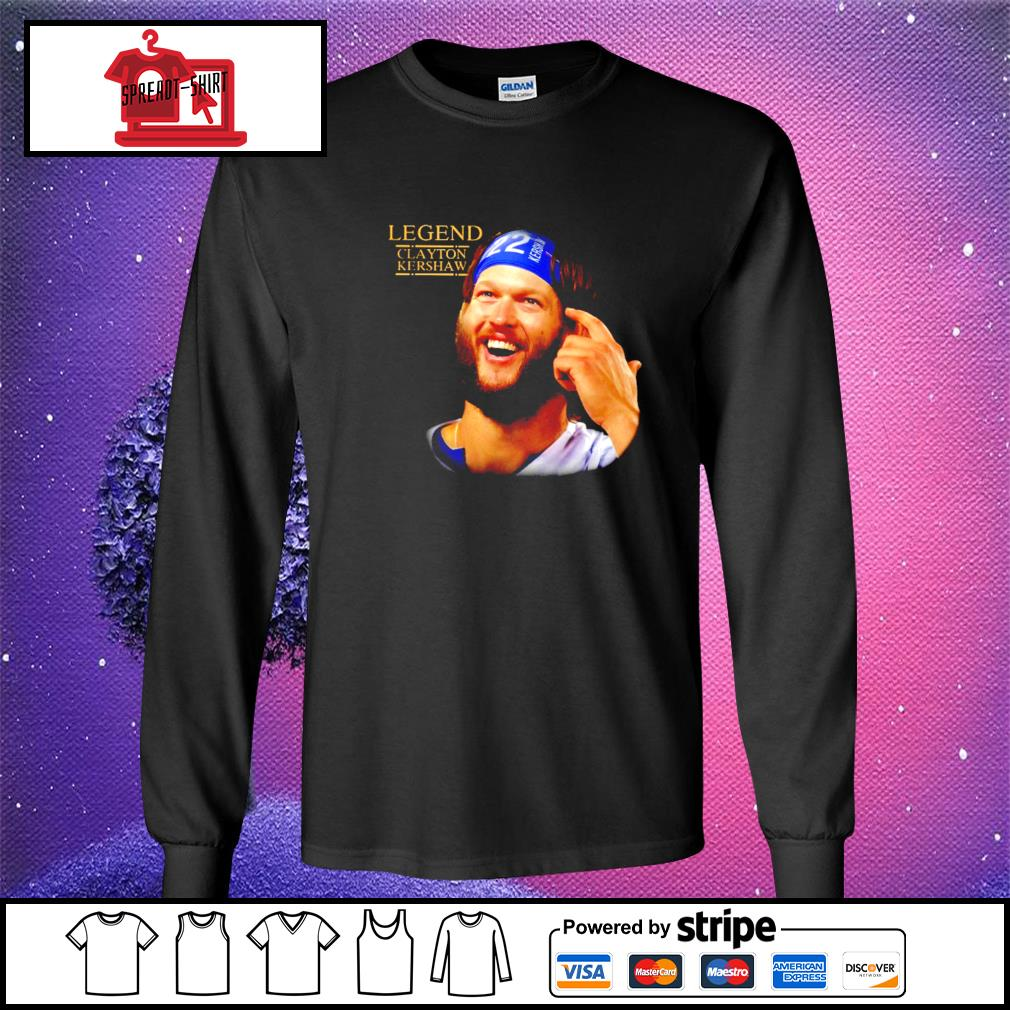 Legend Clayton Kershaw Shirt longsleeve-tee