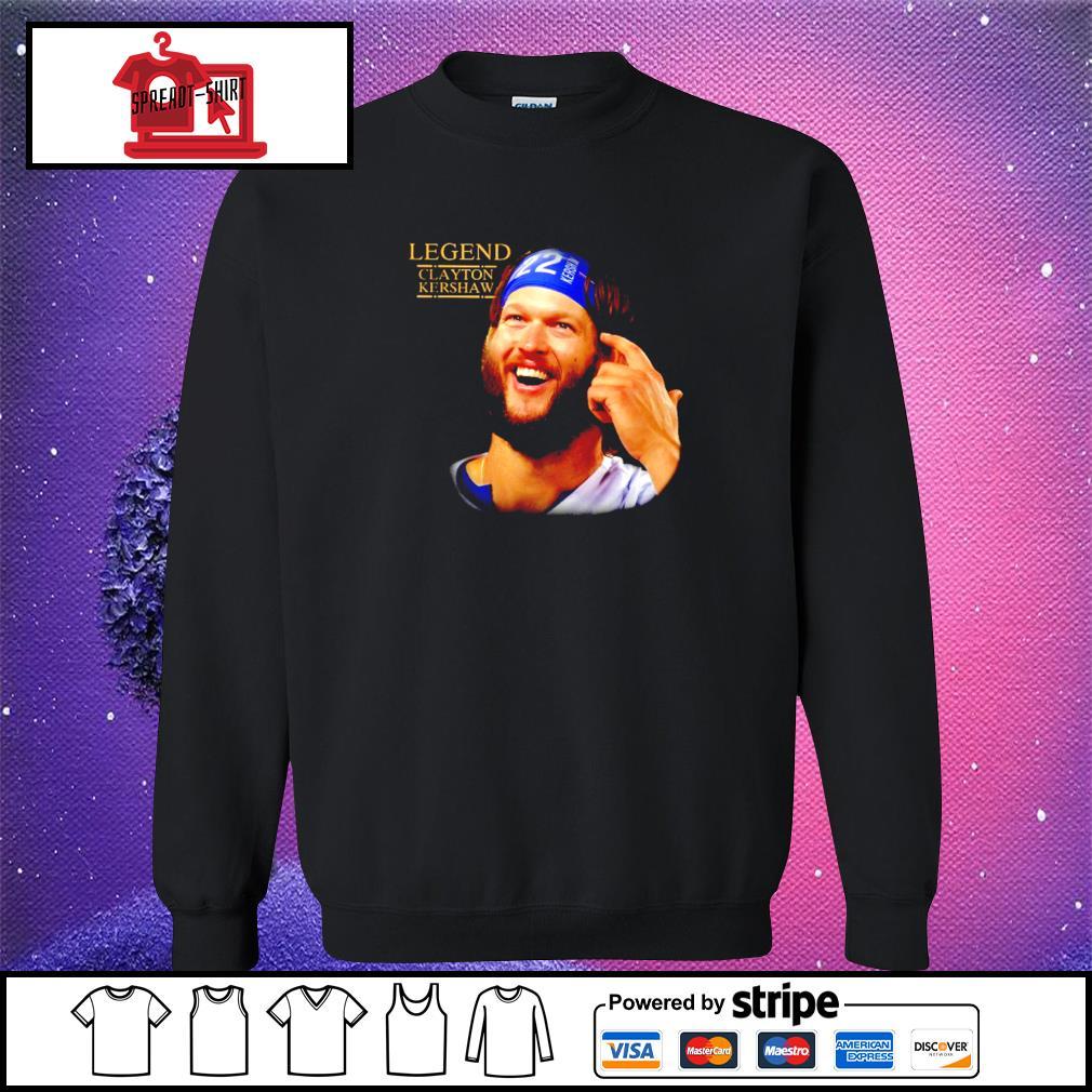 Legend Clayton Kershaw Shirt sweater