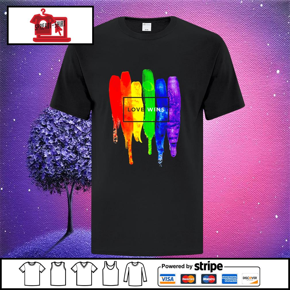 LGBT Love wins shirt