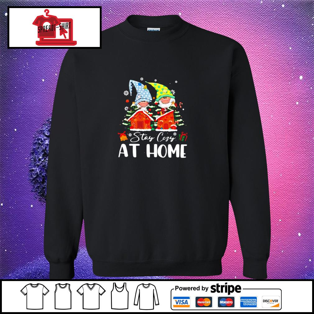 Merry Christmas Gnomies Stay Cosy At Home s sweater