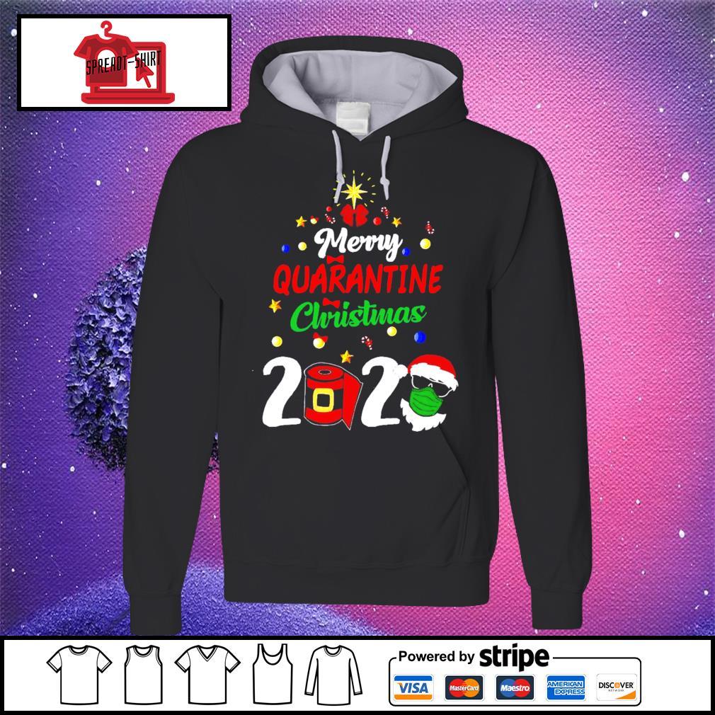Merry Quarantine Christmas 2020 Shirt hoodie