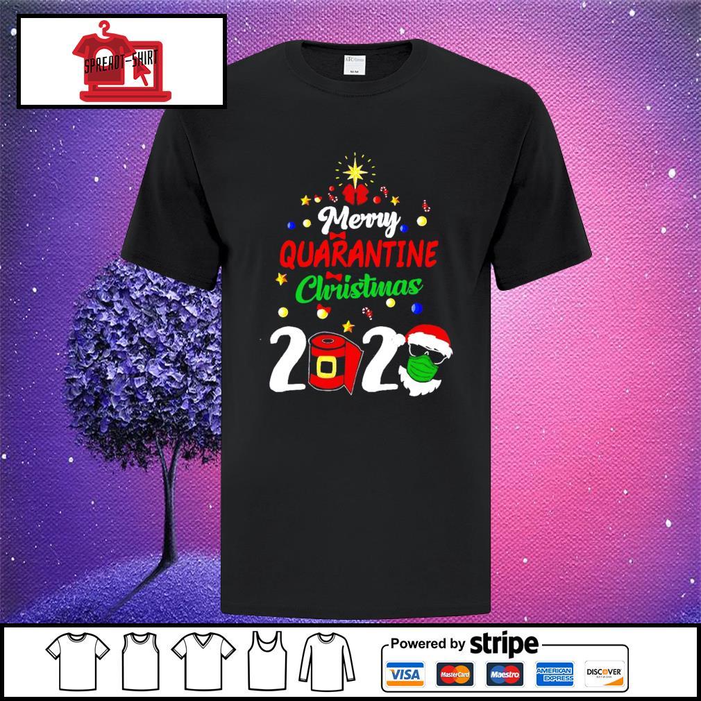 Merry Quarantine Christmas 2020 Shirt