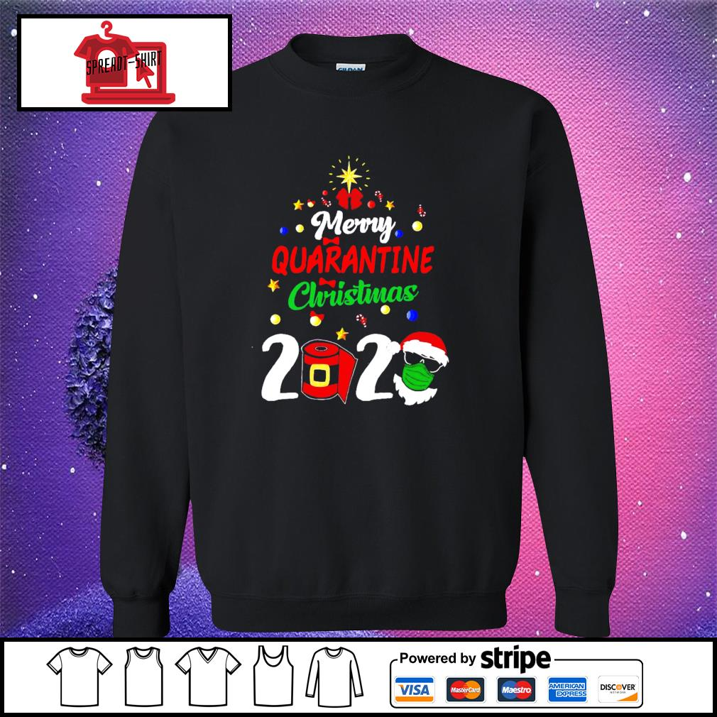 Merry Quarantine Christmas 2020 Shirt sweater