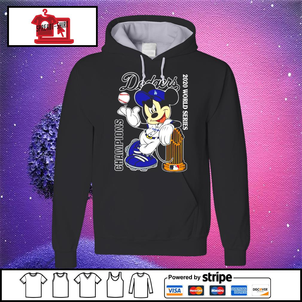 Mickey Mouse Dodgers Championship 2020 Shirt hoodie