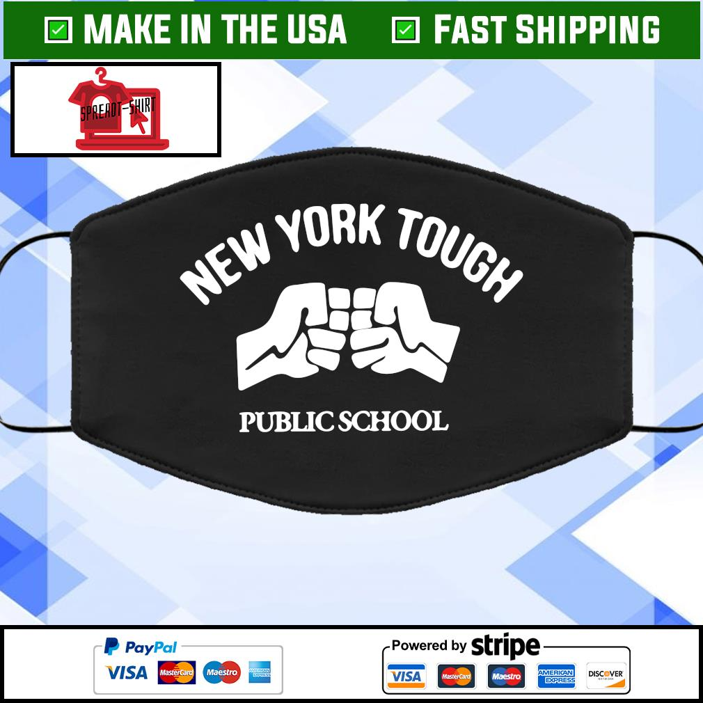 New York tough public school Face Mask Washable