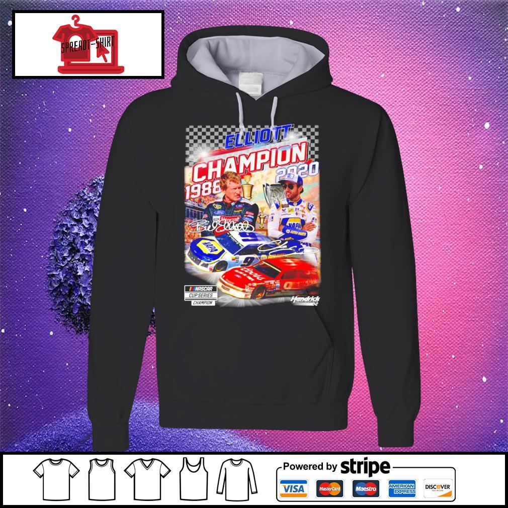 Elliott Nascar cup series Champion 1988 2020 signature s hoodie