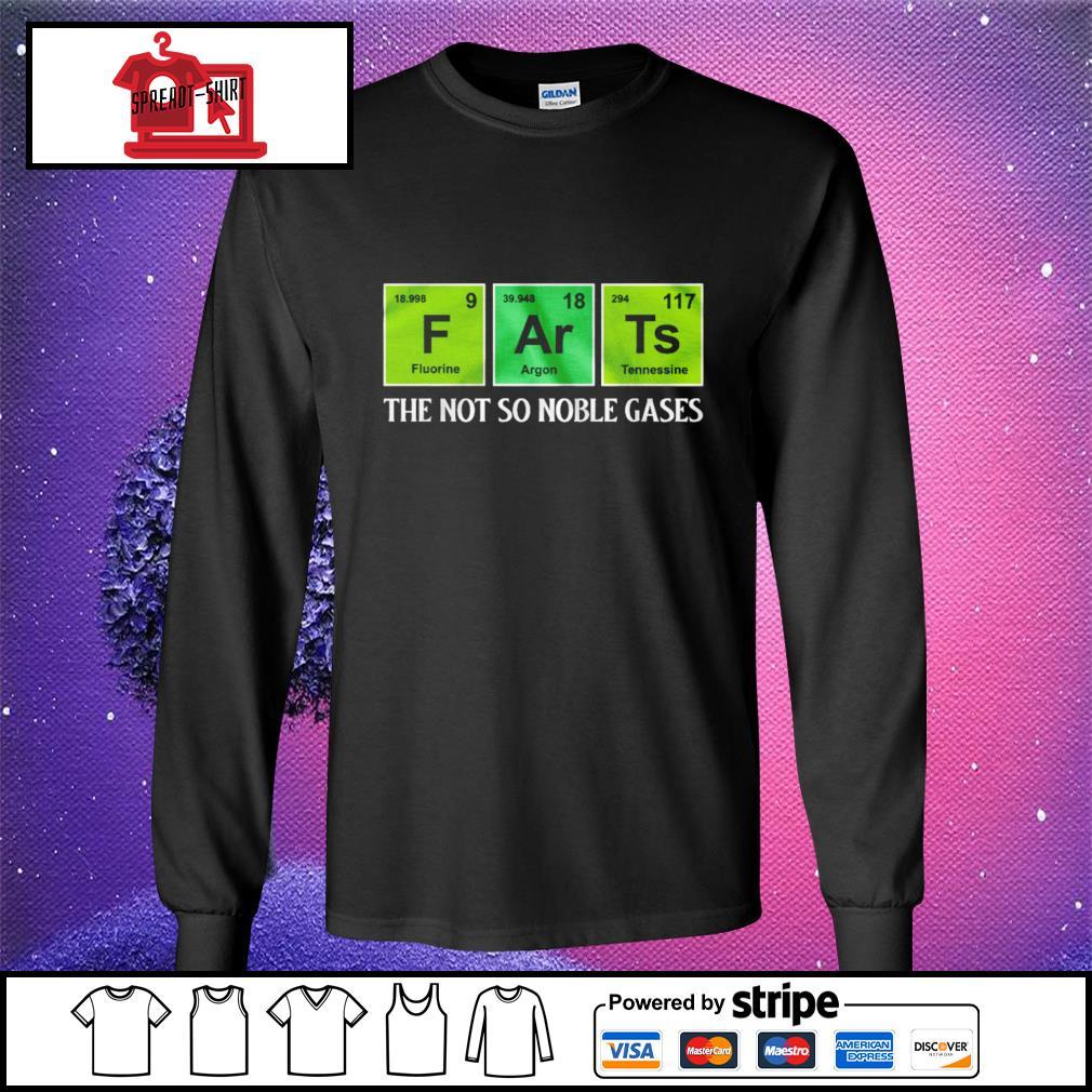 F Ar Ts the not so noble gases s longsleeve-tee