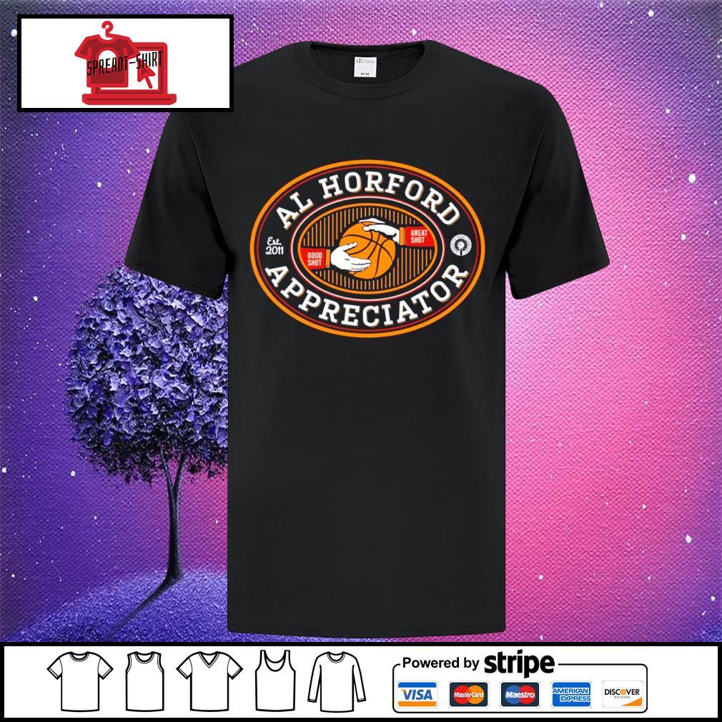 Football Al Horford est 2011 good shot great shot appreciator shirt