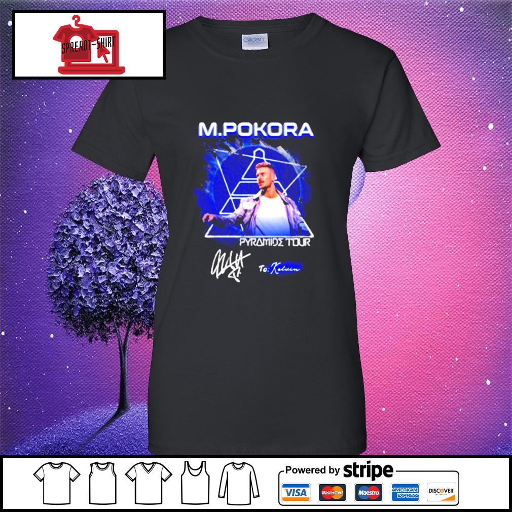 M.Pokora Pyramide Tour signature s ladies-tee