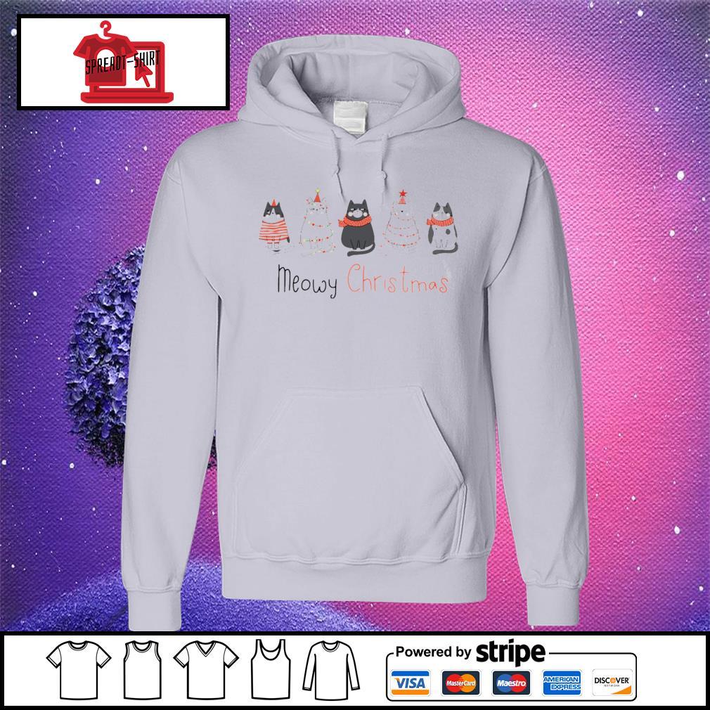 Meowy Christmas s hoodie