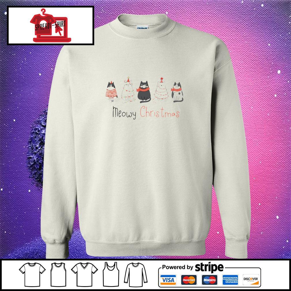 Meowy Christmas s sweater